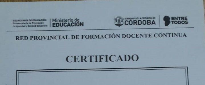Certificación AFIP
